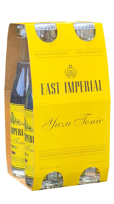 East Imperial Yuzu Tonic 150ml (4-Pack)
