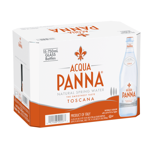 Acqua Panna Still Mineral Water 750ml (15-Pack)