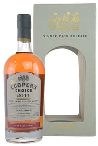 Cooper's Choice Glencadam Single Malt Whisky 2011 700ml