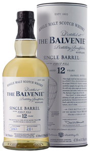 The Balvenie 12 Year Old Single Barrel First Fill Single Malt Scotch 700ml