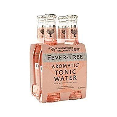 Fever Tree 'Aromatic' Tonic 200ml (4-Pack)