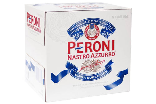 Peroni Nastro Azzurro 330ml Bottles (12-pack)