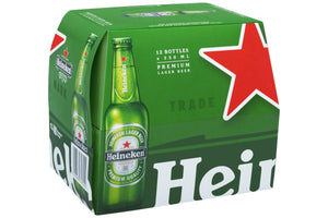 Heineken 330ml Bottles (12-pack)