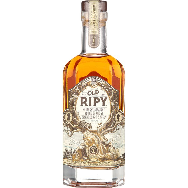 The Whiskey Barons Old Ripy Kentucky Bourbon 375ml