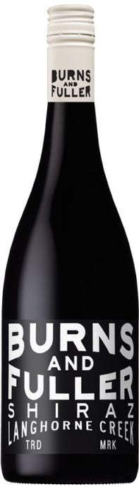 Burns And Fuller Langhorne Creek Shiraz 2018