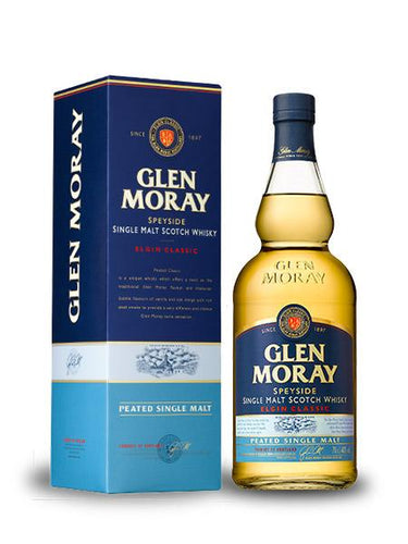 Glen Moray Classic Peated Finish Single Malt Whisky 700ml