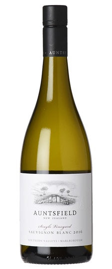 Auntsfield Single Vineyard Marlborough Sauvignon Blanc 2018