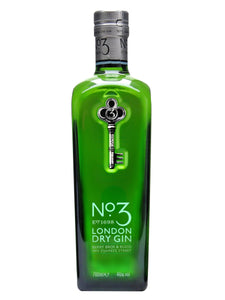 No 3 London Dry Gin 700ml
