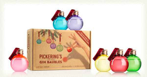 Pickering's Christmas Gin Baubles Gift Pack (6 x 50ml)