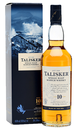 Talisker 10 Year Old Single Malt Scotch Whisky 700ml