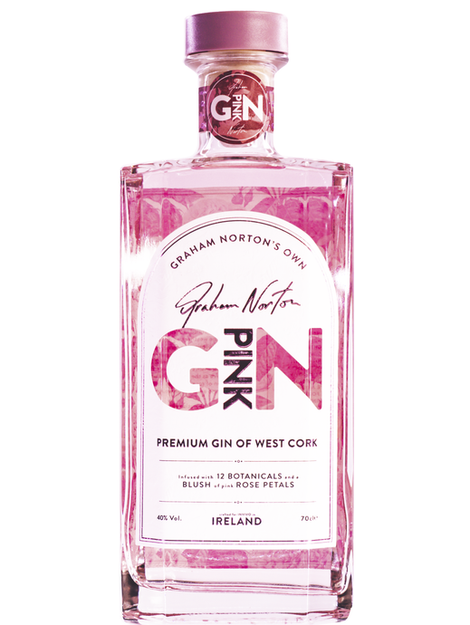 Graham Norton's Own Irish Pink Gin 700ml