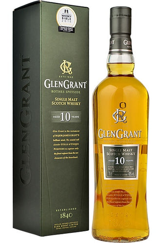 Glen Grant 10 Year Old Single Malt Scotch 700ml
