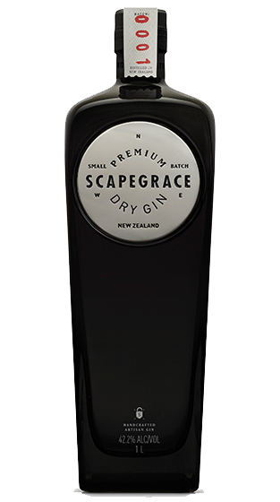 Scapegrace Premium New Zealand Dry Gin 1000ml
