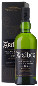 Ardbeg 10 Year Old Single Malt Scotch 700ml