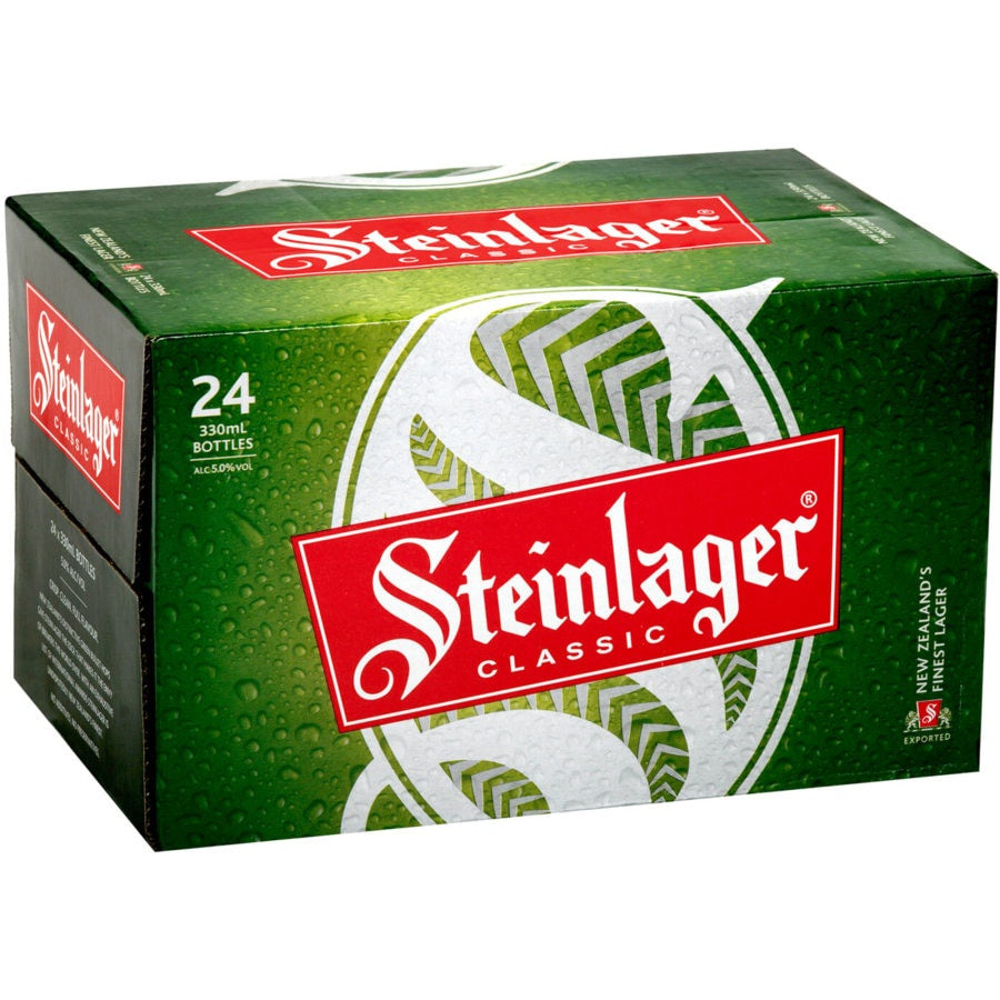 Steinlager Classic 330ml 24 Pack