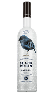Black Robin New Zealand Rare Gin 750ml