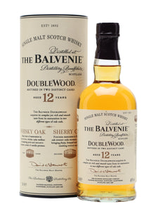 The Balvenie DoubleWood 12 Year Old Single Malt Scotch 700ml