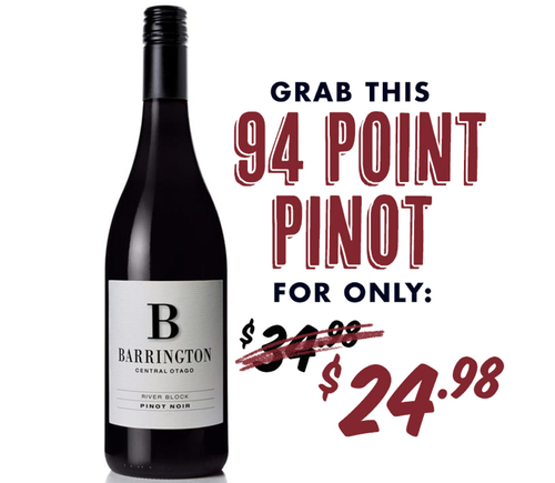 Barrington Central Otago River Block Pinot Noir 2018