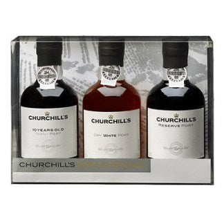 Churchill's Port Experience Trio Pack<br>(3 x 200ml Bottles)