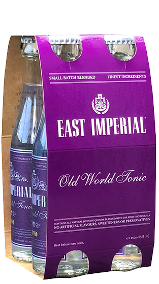 East Imperial Old World Tonic Water 4-Pack