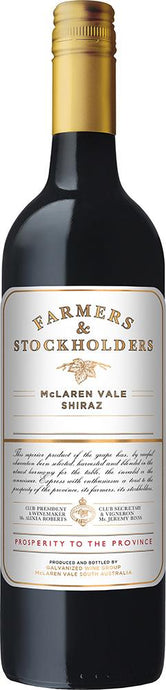 Farmers and Stockholders McLaren Vale Shiraz 2017