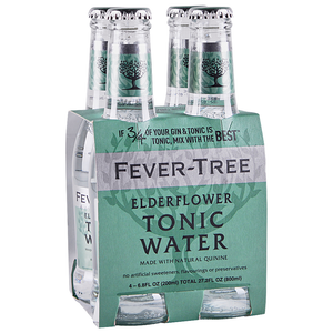 Fever Tree 'Elderflower' Tonic 200ml (4-Pack)