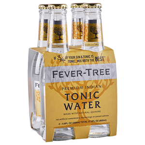 Fever Tree 'Premium' Indian Tonic 200ml (4-Pack)