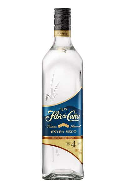 Flor de Cana 4 Year Old White Rum 700ml