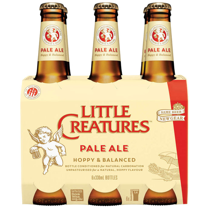 Little Creatures Pale Ale 330ml Bottles (6-Pack)