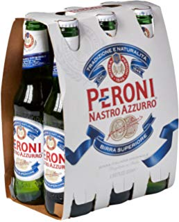 Peroni Nastro Azzurro 330ml Bottles (6-Pack)