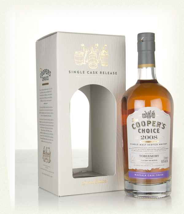Cooper's Choice Tobermory Single Malt Whisky 2008 700ml