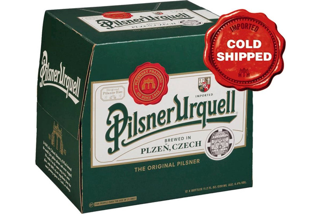 Pilsner Urquell 330ml Bottles (12-pack)