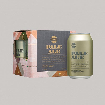 Sawmill Pale Ale 330ml Cans 4 Pack