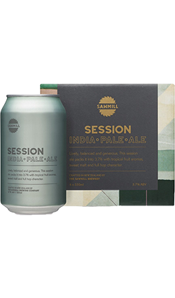 Sawmill Session IPA 330ml Cans 4 Pack