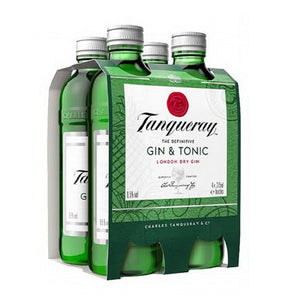 Tanqueray Gin &Tonic 275ml Bottles (4-pack)