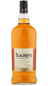 Teacher's Highland Cream Blended Scotch Whisky 1000ml