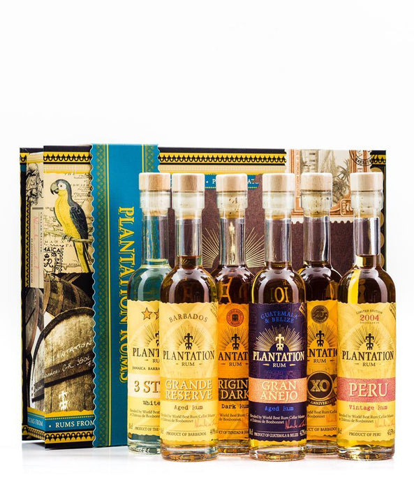 Plantation Rum Experience Gift Pack (6x100ml)