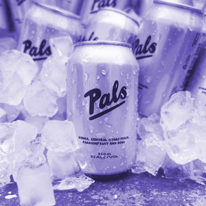 Pals Vodka Central Otago Peach, Passionfruit & Soda 330ml Cans 10-pack