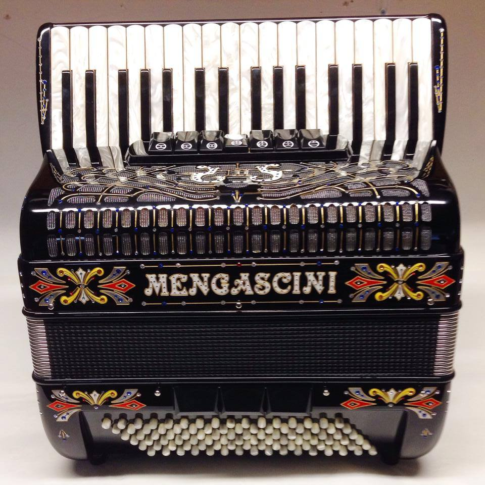 Mengascini Aurora IV - accordéon Chromatique - Mengascini - Fonteneau Accordéons