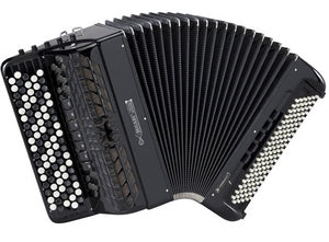Bugari Conservatory 430/CH/C - accordéon Chromatique - Bugari - Fonteneau Accordéons