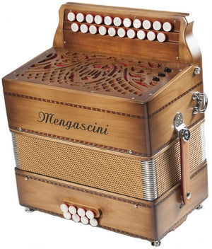 Mengascini D213 - accordéon Diatonique - Mengascini - Fonteneau Accordéons
