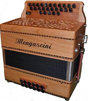 Mengascini D262 - accordéon Diatonique - Mengascini - Fonteneau Accordéons