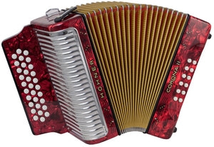 Hohner Corona II - accordéon Diatonique - Hohner - Fonteneau Accordéons