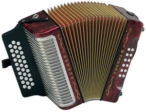 Hohner Corona III - accordéon Diatonique - Hohner - Fonteneau Accordéons