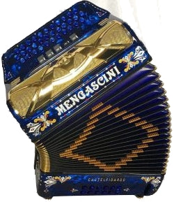 Mengascini Tex-Mex - accordéon Diatonique - Mengascini - Fonteneau Accordéons