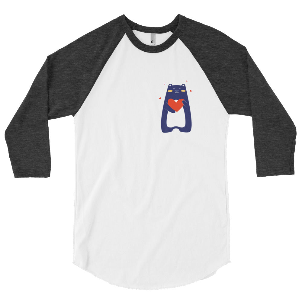 3/4 sleeve raglan shirt - Love