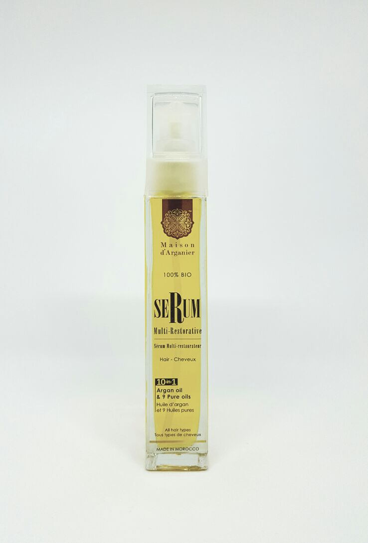 10 in1 Organic Intensive Skin & Hair Treatment With Moroccan Argan Oil Hair - Argan Beauty