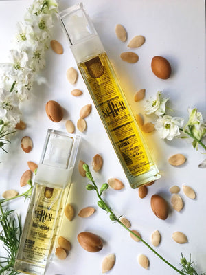 10 in1 Organic Intensive Skin & Hair Treatment With Moroccan Argan Oil Hair - Maison d'arganier