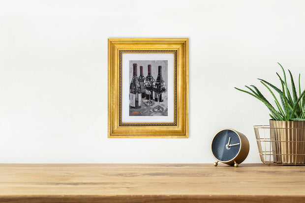 It's 5 O'Clock Somewhere - mini canvas giclee
