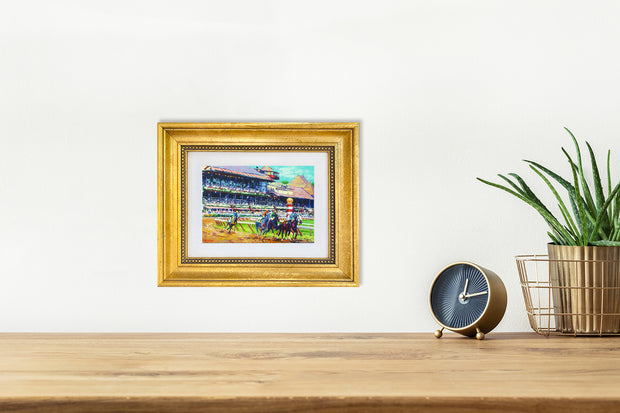 Saratoga Grandstand - mini canvas giclee